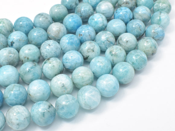 Hemimorphite Beads, 12mm Round-BeadBeyond