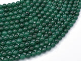 Jade Beads-Emeral, 6mm (6.3mm) Round Beads