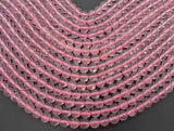 Rose Quartz Beads, 8mm Round Beads-BeadBeyond