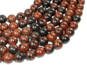 Mahogany Obsidian Beads, 14mm Round Beads-BeadBeyond