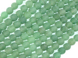 Matte Green Aventurine Beads, 6mm Round Beads-BeadBeyond