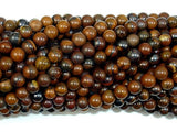 Tiger Iron, Round 4mm Round Beads-BeadBeyond