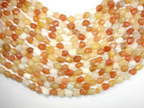 Old Yellow Jade, Faceted Nugget Beads-BeadBeyond
