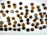Yellow Tiger Eye Beads, 13x13mm Faceted Heart Briolette Beads-BeadBeyond