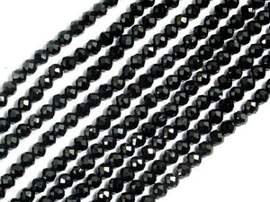 Spinel Beads, 2mm Faceted Round Beads-BeadBeyond