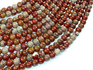 Noreena Jasper, 6mm Round Beads-BeadBeyond