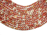 Noreena Jasper, 8mm Round Beads, 15.5 Inch, Full strand