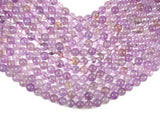 Ametrine, 10mm (9.8mm) Round Beads-BeadBeyond