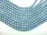 Angelite, 10mm Round Beads-BeadBeyond