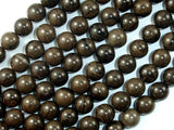 Coffee Jasper, 8mm Round Beads-BeadBeyond