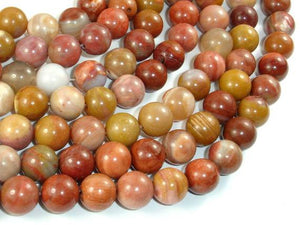 Petrified Wood, 10mm Round Beads-BeadBeyond