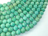 African Amazonite Beads, 10mm(10.4mm) Round Beads , 15.5 Inch-BeadBeyond