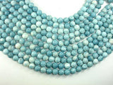 Larimar Quartz, 10mm Round Beads-BeadBeyond