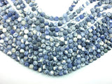 Matte Sodalite Beads, 8mm, Round Beads-BeadBeyond