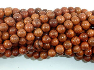 Rosewood Beads, 8mm(8.3mm) Round Beads, 34 Inch, Full strand