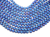 Druzy Agate Beads, Blue Geode Beads, 10mm, Round-BeadBeyond