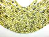 Yellow Turquoise Beads, 6mm Round Beads-BeadBeyond