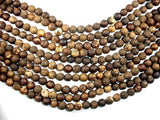 Crackle Tibetan Agate, 10mm Round Beads-BeadBeyond
