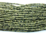 Russian Serpentine Beads, 4mm Round Beads-BeadBeyond