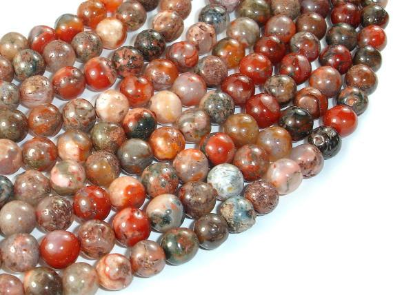 Agate Beads, Round, 7.5mm, 15.5 Inch-BeadBeyond