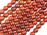Red Sandalwood Beads, 8mm(8.3mm) Round Beads, 34 Inch, Full strand