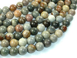 Polychrome Jasper, 10mm Round Beads-BeadBeyond