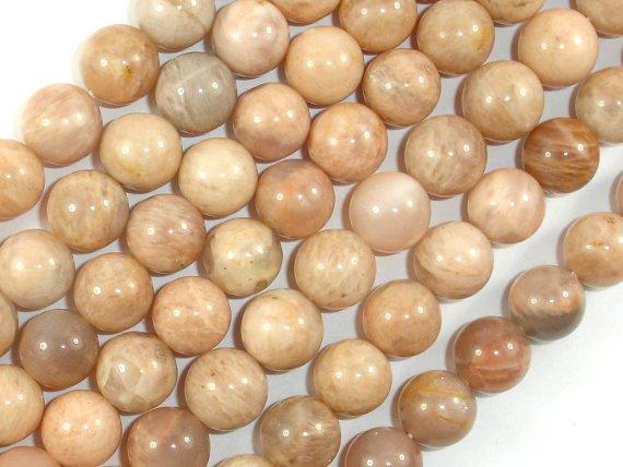 Sunstone Beads, 10mm Round Beads-BeadBeyond