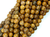 Agate Beads-Brown, 6mm(6.5mm)-BeadBeyond
