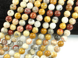 Crazy Lace Agate Beads, 8mm Round Beads-BeadBeyond