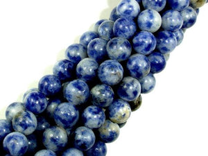 Blue Spot Jasper Beads, Round, 6mm-BeadBeyond