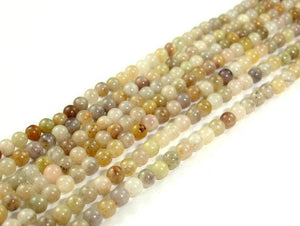 Silver Leaf Jasper Beads, Round, 2mm-BeadBeyond