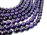 Amethyst - Round Beads, 12mm-BeadBeyond