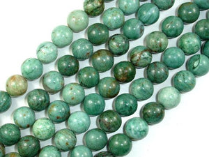 Dragon Blood Jasper Beads, Round, 12mm-BeadBeyond