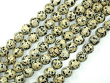 Dalmation Jasper Beads, Round, 10mm-BeadBeyond