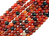 Frosted Matte Agate Beads, Round, 10mm-BeadBeyond
