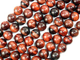 Red Tiger Eye Beads, Round, 12mm, 15.5 Inch