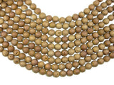 Druzy Agate Beads, Geode Beads, Matte Golden Brown, 12mm-BeadBeyond