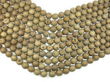 Druzy Agate Beads, Geode Beads, Matte Dark Golden Brown, 14mm-BeadBeyond
