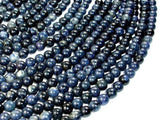 Dumortierite Beads, 8mm Round Beads-BeadBeyond