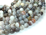 Botswana Agate Beads, 10mm Round Beads-BeadBeyond