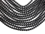 Black Onyx Beads, 8mm Round Beads, Full strand, 15.5 Inch