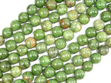 Green Opal Beads, 10mm, Round Beads-BeadBeyond