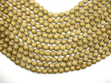 Druzy Agate Beads, Gold Geode Beads, 8mm, Round Beads-BeadBeyond