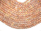 Druzy Agate Beads, Champagne Geode Beads, 8mm Round Beads-BeadBeyond