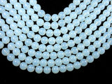 White Opalite Beads, 12 mm Round Beads-BeadBeyond
