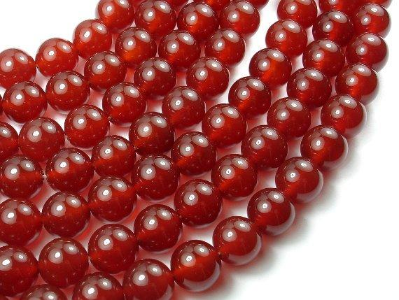 Carnelian, 12mm Round Beads-BeadBeyond