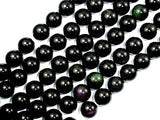 Rainbow Obsidian Beads, Round, 14mm-BeadBeyond