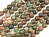 Rainforest Agate Beads, 8mm Round Beads-BeadBeyond