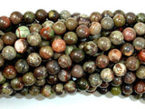 Rainforest Agate Beads, 6mm Round Beads-BeadBeyond