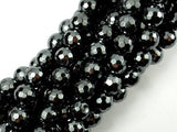 Hematite, 10mm Faceted Round Beads-BeadBeyond